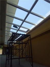 丰台区玻璃阳光房 玻璃顶阳光休闲走廊