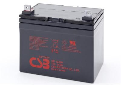 台湾CSB蓄电池GP12240 12V24AH铁路照明