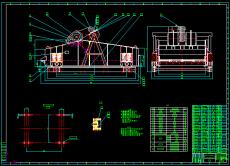 YA1842單層圓振動篩CAD制造圖紙