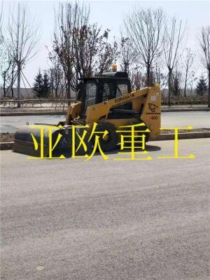 掃地機清掃器路面掃路車滑移裝載機前進清掃