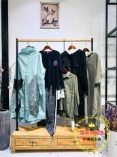 广州品牌女装折扣店艾沸中长款双面尼石井雪