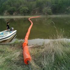 浮筒式拦污栅河道漂浮物拦截浮排规格