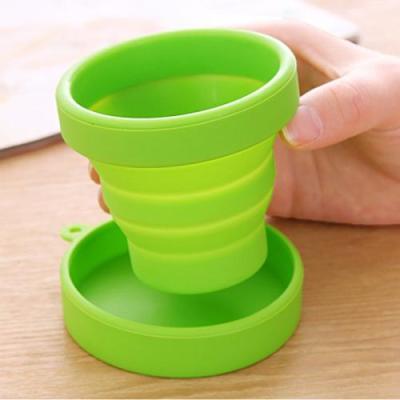 硅胶折叠水杯选新帆顺 耐热抗老化 绿色环保