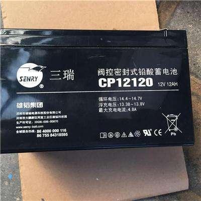 三瑞CP1250H蓄电池工程叉车