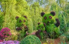 大型园林绿雕工艺品厂子6月超低价出售