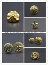 工廠直銷純銅十字財布扣 花瓣 皮具包包裝飾