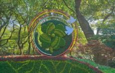 人物园林绿雕花坛工艺品工厂品质