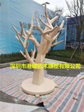 玻璃鋼仿樹木樹干雕塑流行時尚裝飾擺件