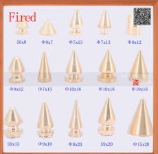 廠家直銷五金制品廠專業從事黃銅朋克釘尖釘