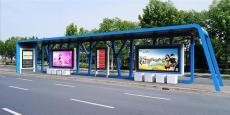 城市公交候車亭公交站臺還是飛逸質量最可靠