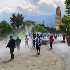 成都景美佳大理崇圣寺景观造雾项目