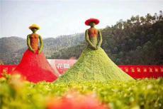2019户外大型绿雕稻草雕塑工艺品工厂