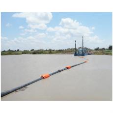 抗冲击聚乙烯疏浚浮体夹管塑料浮体价格