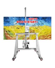 青海多功能繪畫機墻體彩繪機多少錢 墻體壁