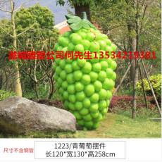 种植业仿真葡萄雕塑让消费者融入乐园其中
