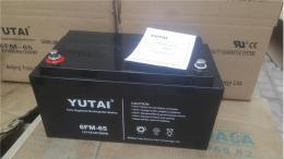 宇泰YUTAI铅酸蓄电池6-FM-65 12V65AH质保