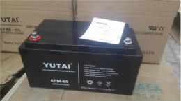 宇泰YUTAI铅酸蓄电池6-FM-100 12V100AH报价