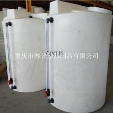 2立方塑料加藥桶如何連接管子