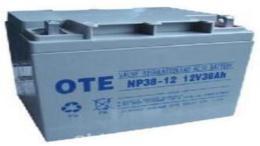 OTE蓄电池NP38-12 12V38AH太阳能专用