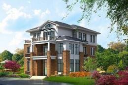 中式三层自建别墅-别墅设计图汇总