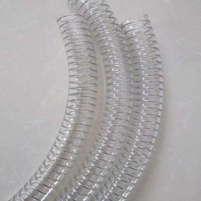 河南PU食品级钢丝管聚氨酯输送管壁平滑无阻