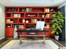 格子书架 合肥展示柜 书房书桌 全屋书柜