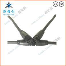 M16-01防水接头2加3公母对接防水连接器 LED