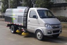 重庆长安3方小型道路清扫车