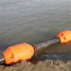 大口径托管浮子航道清淤排泥浮体报价