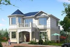 精致欧式二层小别墅-房屋设计图大全