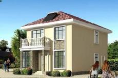 农村自建别墅设计图-农村二层房屋设计图