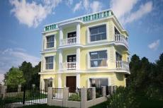 经典三层别墅设计图-房屋设计图大全