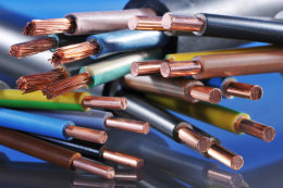 耐高温起重机扁电缆YGZB 4*4