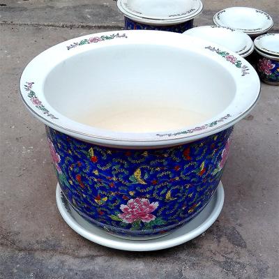 景德镇陶瓷花盆生产厂家