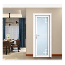 现代简约风格铝合金洗手间平开门图片大全
