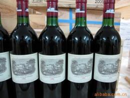 双井回收2001年拉菲红酒01年拉图回收报价