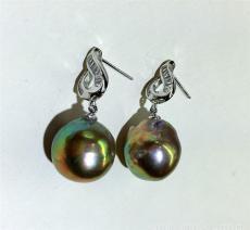 天然珍珠耳环可以去哪里鉴定交易