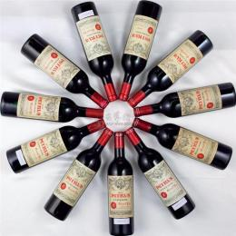 安贞收酒2002年柏图斯红酒回收值多少钱报价