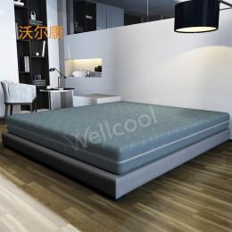 夏季4d环保透气墨绿色透气床垫