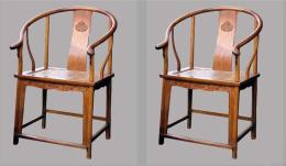 现今黄花梨木圈椅收购价格
