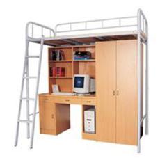 成人双层床 上下铺铁架床高低床上下床铁床