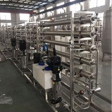四川礦用1噸/時反滲透桶裝水處理設備哪的好