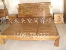 西安实木床   红木大床-南美酸枝实木床