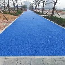 天然彩色透水混凝土地坪材料施工透水地坪廠