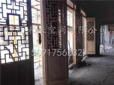 西安仿古门窗  实木门窗  松木门窗