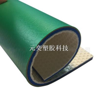 定制 PVC塑胶运动地板PVC运动地胶室内球