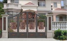 定制铝合金别墅门铝艺庭院大门按需定制