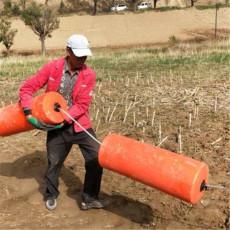 閘口垃圾攔污設備浮球攔截網使用