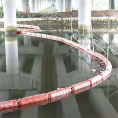 環保型塑料攔污浮筒水庫導漂排批發