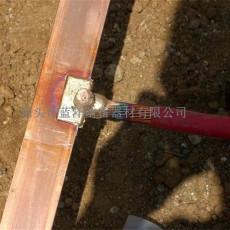 铜包钢扁钢实现铜与钢之间冶金熔接